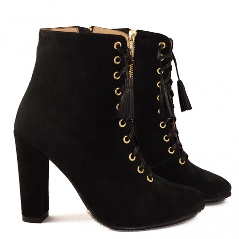 GHETE BLACK SUEDE