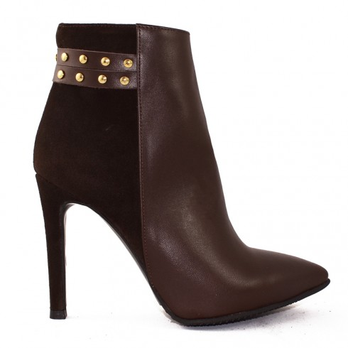 GHETE STILETTO BROWN