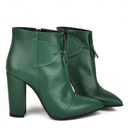 GHETE STILETTO EMERALD - poza 3