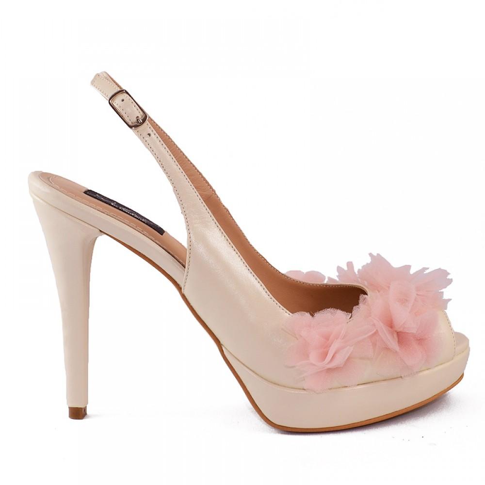 Sandale Cu Flori