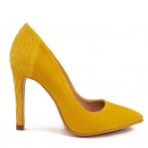 STILETTO YELLOW PYTON