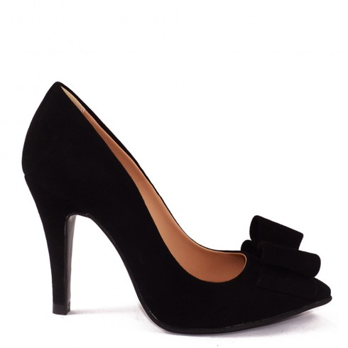 STILETTO BLACK BOW