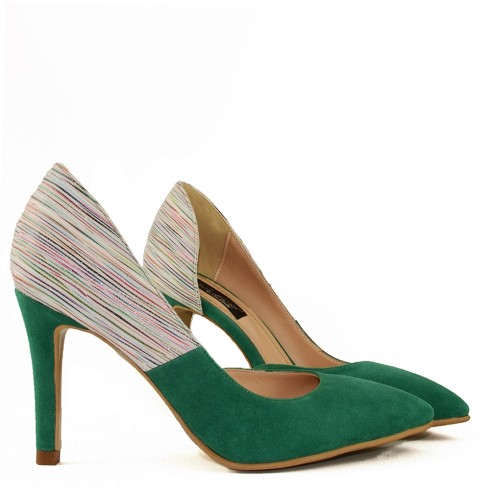 STILETTO RAINBOW GREEN