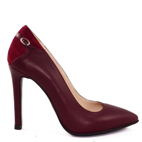 STILETTO BURGUNDY CORA