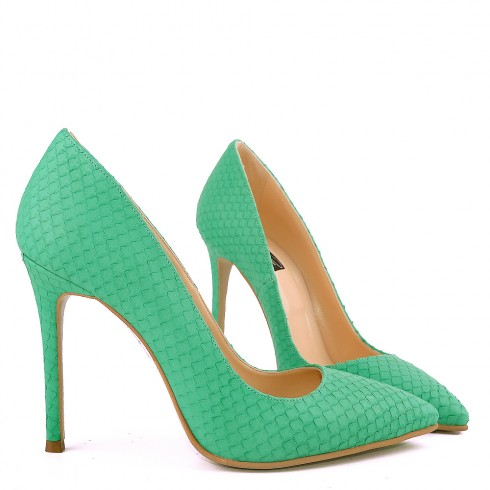 STILETTO SNAKE MINT
