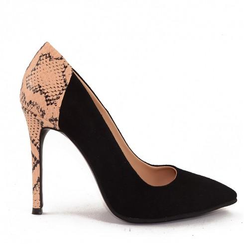 Pantofi Black Pyton