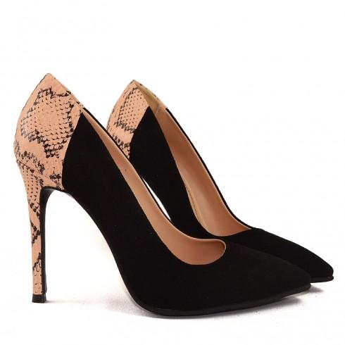 Pantofi Black Pyton  - poza 4