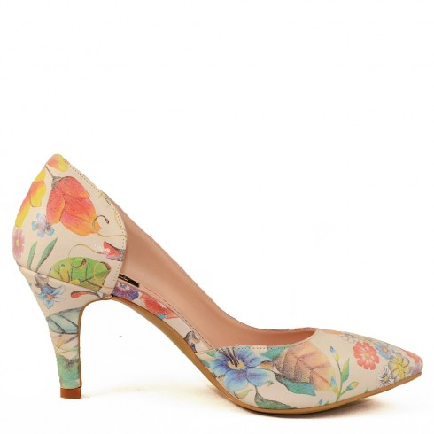 MINI STILETTO DIANA FLORAL