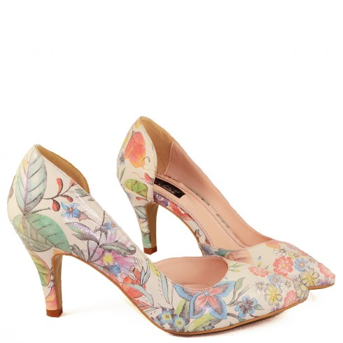 MINI STILETTO DIANA FLORAL - poza 3