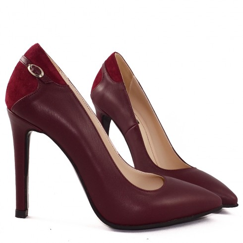 STILETTO BURGUNDY CORA - poza 3