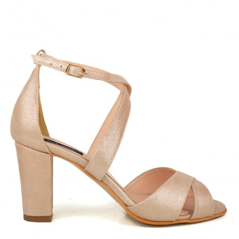 SANDALE NUDE SIDEFAT PIELE SMOOTH ASTER