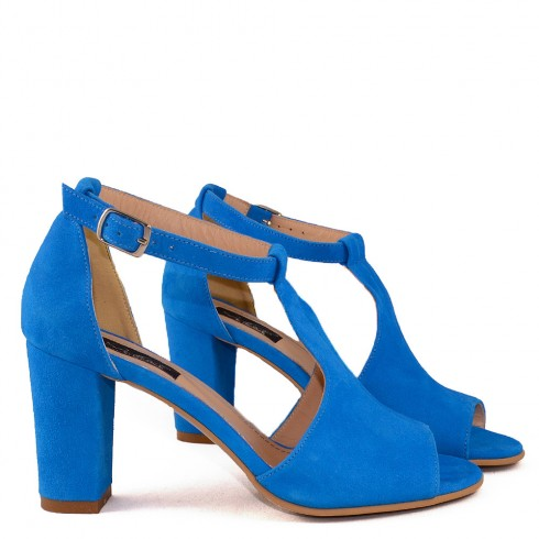 SANDALE ELECTRIC BLUE  - poza 3