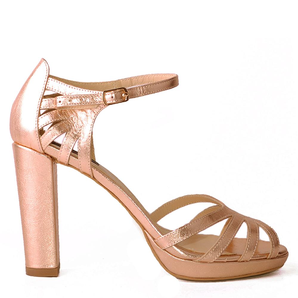 sandale rose gold