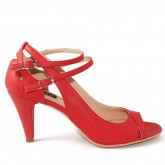 SANDALE ALL RED