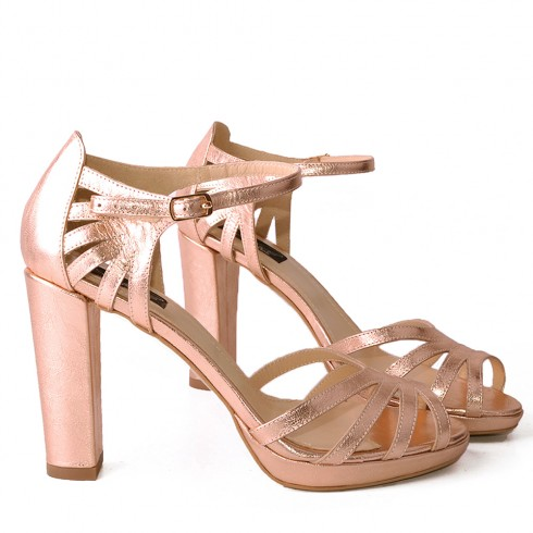 SANDALE ROSE GOLD  - poza 2